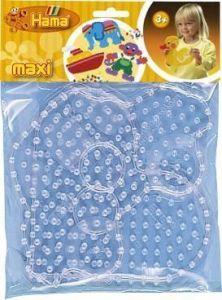 HAMA Набор полей для Maxi - машинка, сердце, Maxi 3+, термомозаика