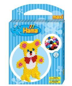 Термомозаика HAMA Набор - Мишка, Maxi 3+