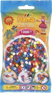 Термомозаика HAMA Набор бусин 1000 шт, 10 цветов, Midi 5+