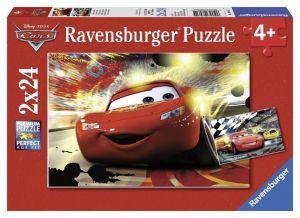 Пазл Тачки Мак Квин, Ravensburger 2x24 элементов