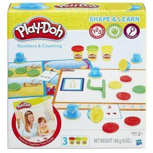 Игровой набор ЦИФРЫ И ЧИСЛА Play-Doh, Hasbro
