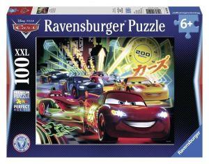 Пазл Ravensburger Тачки - Ночные гонки, 100 элементов