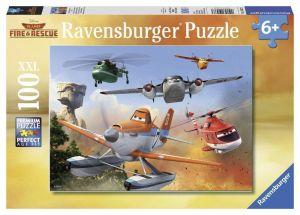 Пазл Ravensburger Самолеты - Борьба с огнем, 100 элементов