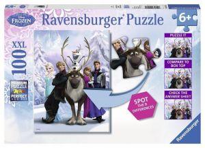 Пазл Ravensburger Холодное сердце - Раница, 100 элементов