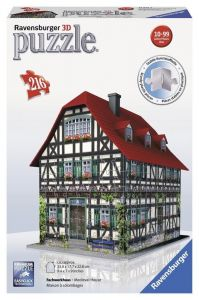 3D пазл Ravensburger Средневековый дом