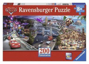 Пазл Ravensburger Тачки - Вокруг света, 200 элементов