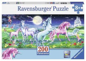 Пазл Ravensburger Удивительные единороги, 200 элементов