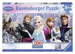 Пазл Ravensburger Холодное сердце - Друзья, 200 элементов