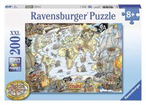 Пазл Ravensburger Пиратская карта, 200 элементов