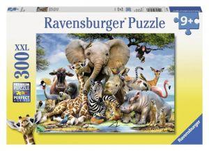 Пазл Ravensburger Африканские друзья, 300 элементов