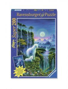 Светящийся Пазл Ravensburger Единорог, 200 элементов