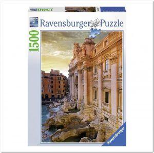 Пазл Ravensburger Фонтан Треви, Рим, 1500 элементов
