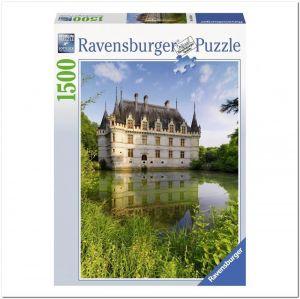 Пазл Ravensburger Замок Азе-ле-Ридо, Франция, 1500 элементов