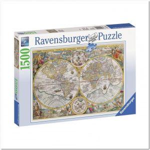 Пазл Ravensburger Историческая карта, 1500 элементов