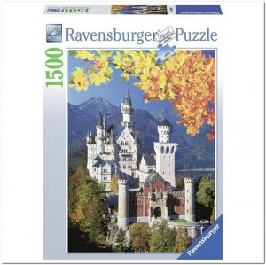 Пазл Ravensburger Нойшванштайн осенью, 1500 элементов