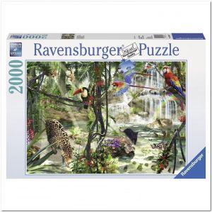 Пазл Ravensburger Джунгли, 2000 элементов
