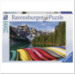 Пазл Ravensburger Горные каноэ, 2000 элементов