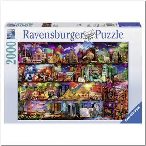 Пазл Ravensburger Книжный мир, 2000 элементов