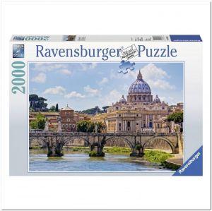 Пазл Ravensburger Мост Ангелов, Рим, 2000 элементов