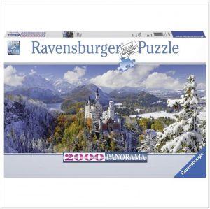 Панорамный пазл Ravensburger Нойшванштайн, 2000 элементов