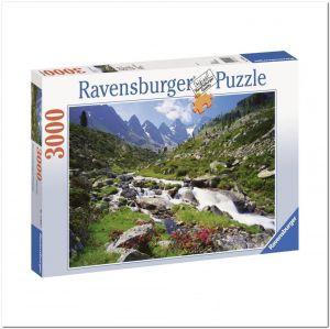 Пазл Ravensburger Австрийские горы, 3000 элементов