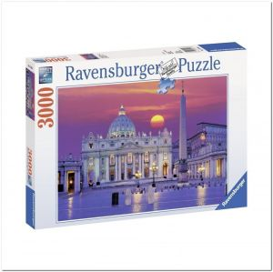 Пазл Ravensburger Собор Святого Петра, Рим, 3000 элементов