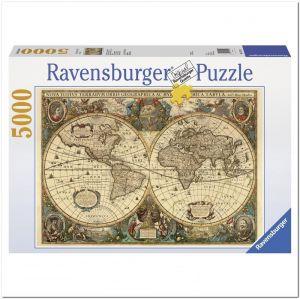 Пазл Древняя карта Мира Ravensburger, 5000 элементов
