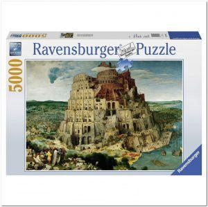 Пазл Ravensburger Вавилонская Башня, Питер Брейгель, 5000 элементов