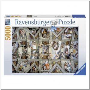 Пазл Ravensburger Сикстинская капелла, 5000 элементов