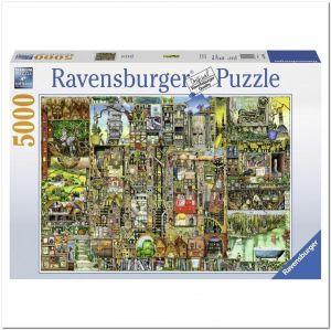 Пазл Ravensburger Причудливый город, 5000 элементов