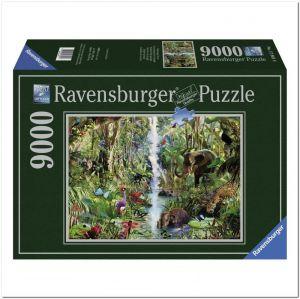 Пазл Ravensburger В джунглях, 9000 элементов