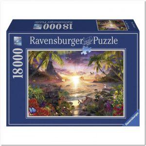 Пазл Закат Солнца, Ravensburger 18000 элементов