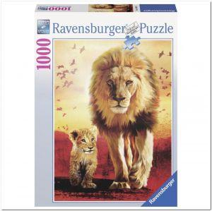 Пазл Ravensburger Первые шаги, 1000 элементов