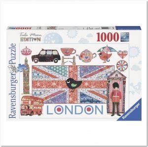 Пазл Ravensburger Лондон, 1000 элементов