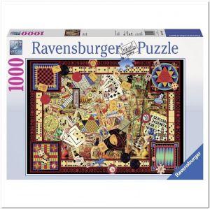 Пазл Ravensburger Классические игры, 1000 элементов