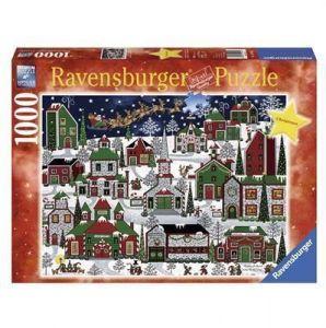 Пазл Ravensburger Американское Рождество 1000 элементов