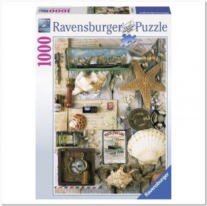 Пазл Морские сувениры, Ravensburger 1000 элементов