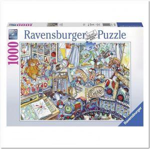Пазл Игрушки Ravensburger Игрушки, 1000 элементов