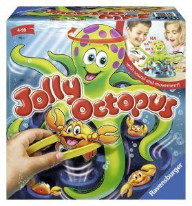 Настольная игра - Веселый осьминог Джолли, Ravensburger