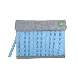 Клатч Upixel для планшета - Серо-голубой