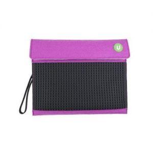 Клатч Upixel для планшета Пурпурно-черный