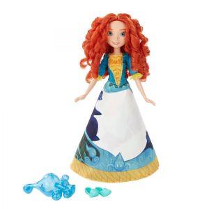 Модная кукла Принцесса Мерида в юбке с проявляющимся принтом