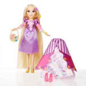 Кукла Принцесса Рапунцель в платье со сменными юбками