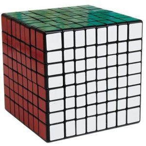 Кубик Рубика 8x8 Black Shengshou