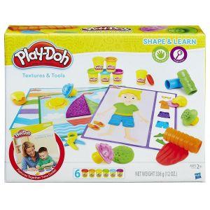 Игровой набор ТЕКСТУРЫ И ИНСТРУМЕНТЫ Play-Doh , Hasbro