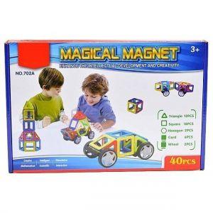 Игровой набор Магнитный конструктор 40 деталей 702A