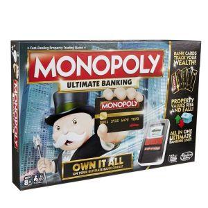 Hasbro Монополия с банковскими картами (обновленная)