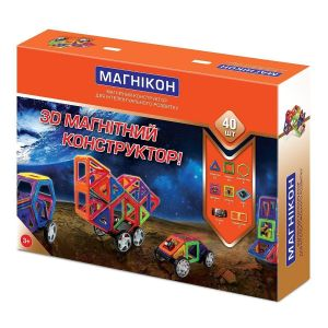 Магнитный конструктор МАГНИКОН MK-40