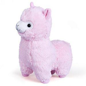Мягкая игрушка Альпака розовая FANCY