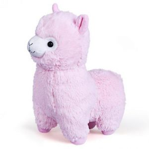 Гламурная игрушка FANCY Альпака розовая ALPK1